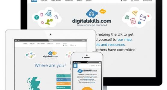 GO ON, make the UK 100% online with Digital Skills