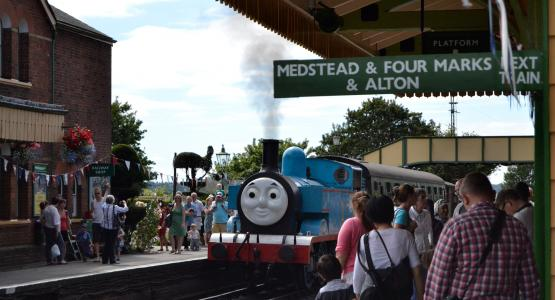 Carswell Gould boosts visitor numbers for heritage railway