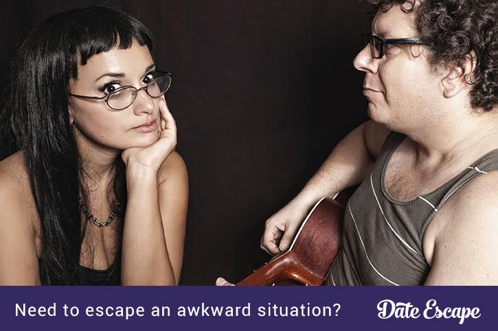 Date Escape: an app for awkward situations
