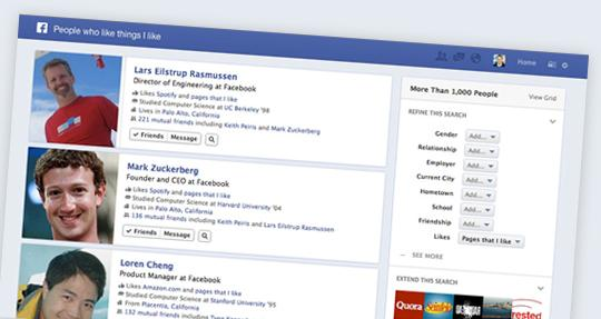 Facebook Graph Search: what it means for businesses