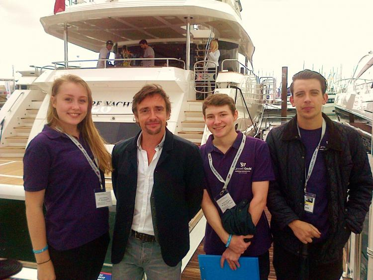 Another successful PSP Southampton Boat Show for CG