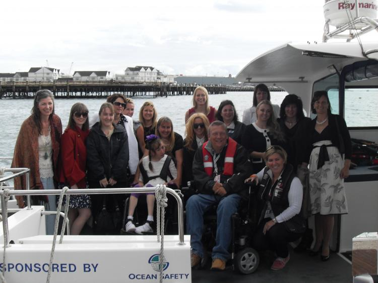 CG celebrates client success at PSP Southampton Boat Show 2012