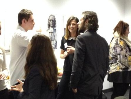 CG shares networking skills with university students