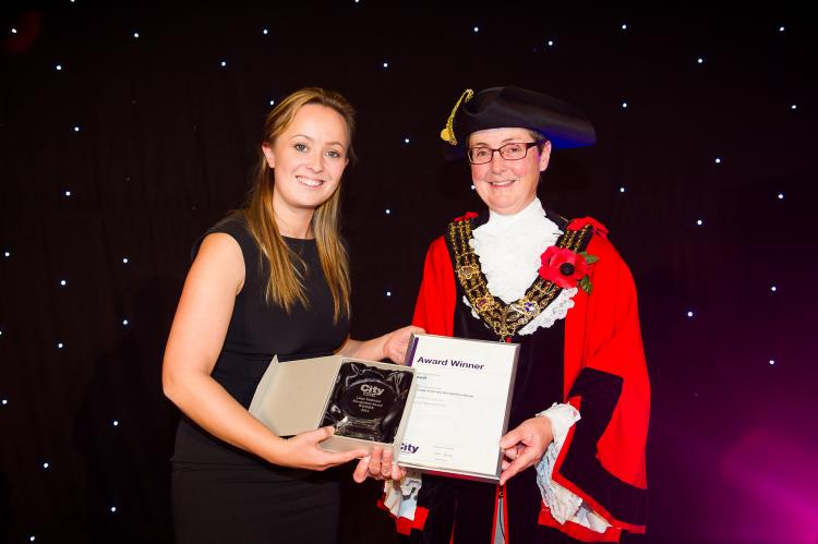 Carswell Gould sponsors City College award for large employers