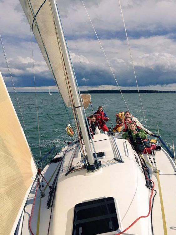 CG sails the Solent in its latest adventure