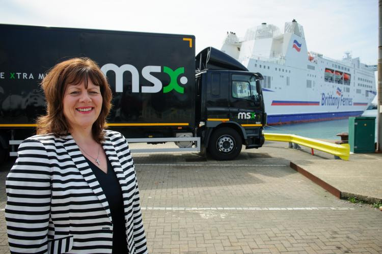 MSX celebrates 30 years working with Brittany Ferries
