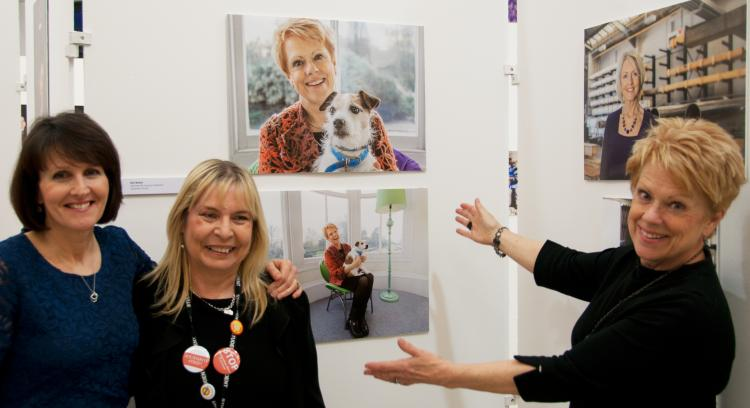 CG's Gill takes pride of place in inspirational women exhibition