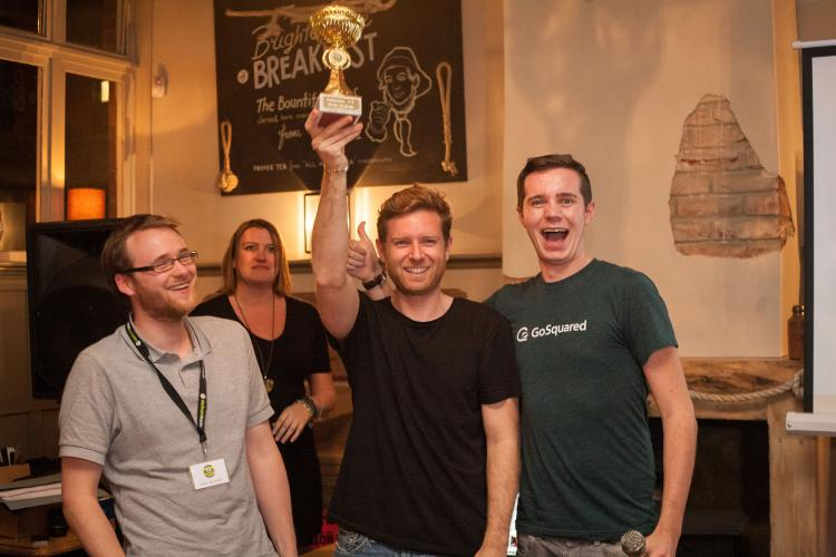 CG's team claims awkward victory at hackathon