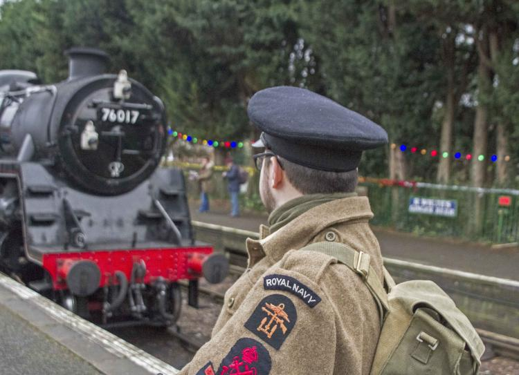 Thousands experience WWII at the Watercress Line