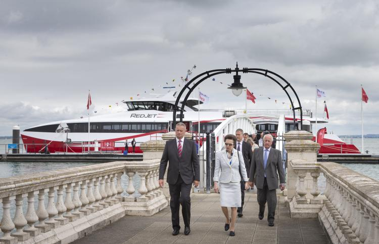 It's smooth sailing as Carswell Gould supports naming ceremony for Red Jet 6