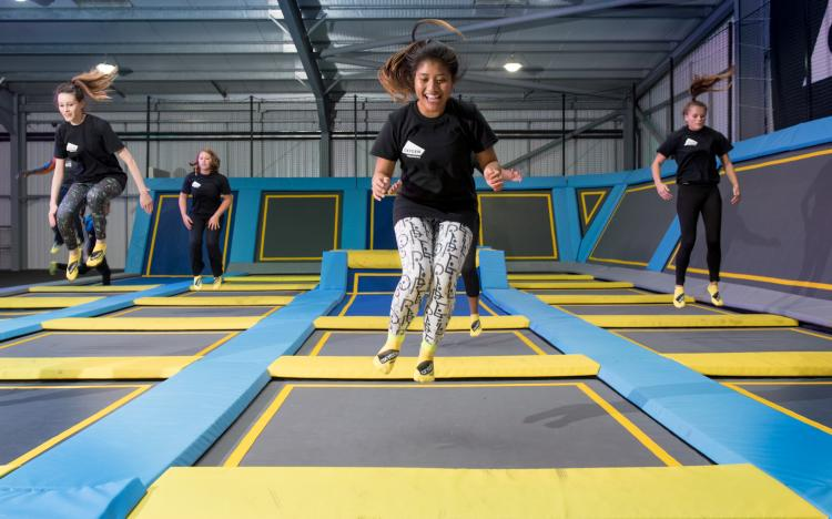 Oxygen Freejumping Southampton aims to jump into the GUINNESS WORLD RECORD™ books