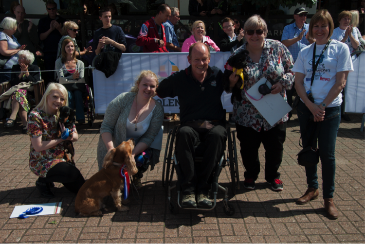 Port Solent hosts charity dog show for Hounds for Heroes