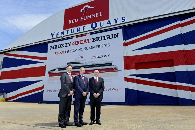 Red Funnel reveals Red Jet 6 at top secret press conference