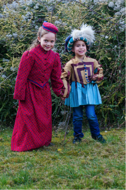 Children of Hampshire summoned for a 'Right Royal Dress Up' at The Anarchy, Winchester