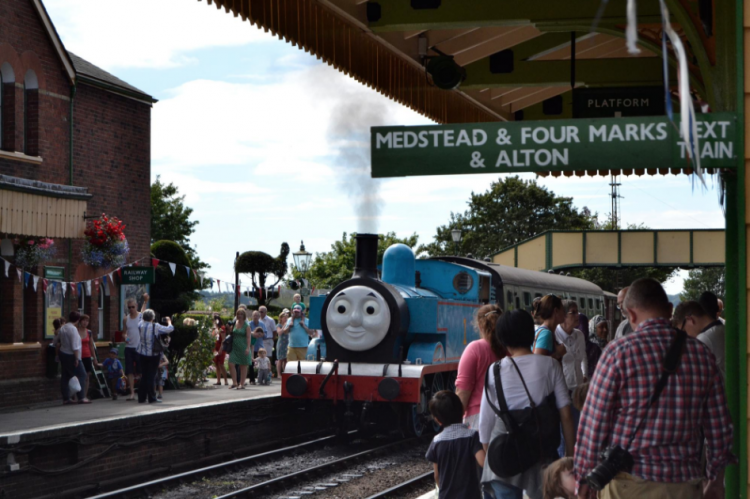 Day Out with Thomas returns to the Watercress Line