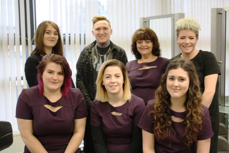 City College hair students are a cut above the rest