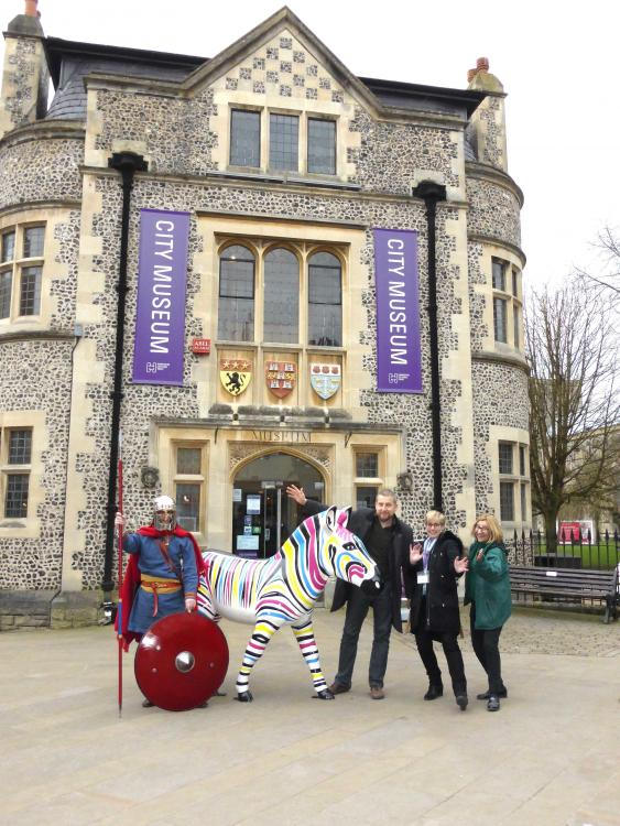 HAMPSHIRE CULTURAL TRUST JOINS THE STAMPEDE OF ZANY ZEBRAS