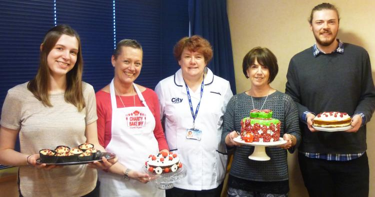 Victory for CG in Comic Relief bake off