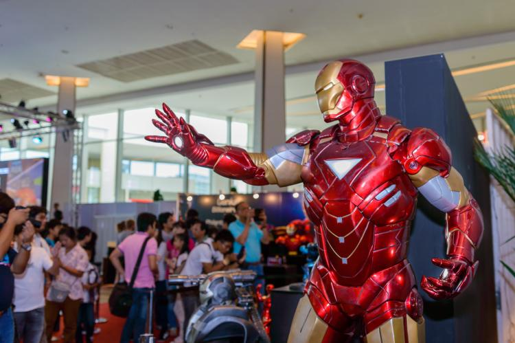 Comic Con takes Port Solent out of this world on Father's Day weekend
