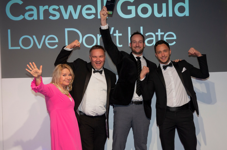 Carswell Gould brings home two major awards for work that puts people at the centre of engagement