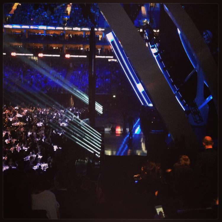 CG attends Brits 2014