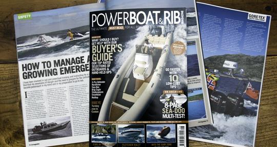 Marine magazine sees an increase in sales