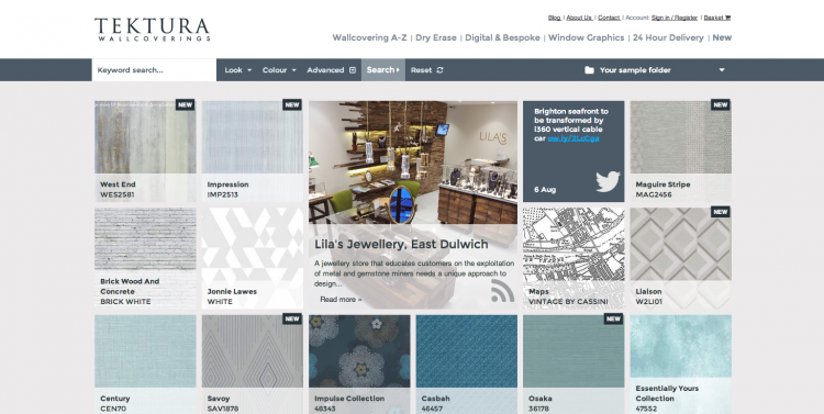 Carswell Gould-built site shortlisted for prestigious web award